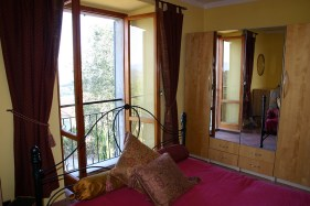 Master bedroom in Apartment Quercia
