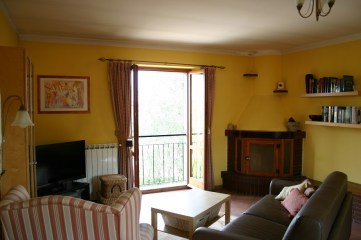 Living room in Apartment Quercia