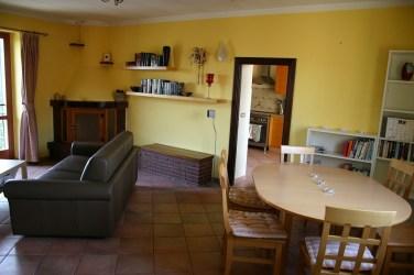 Dining area in Apartment Quercia