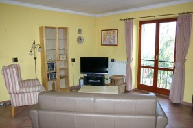 Living area in Apartment Quercia