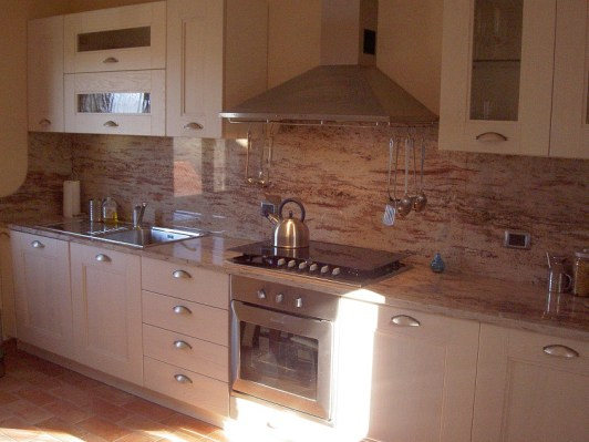 Fully fitted kitchen in Apartment Ulivo
