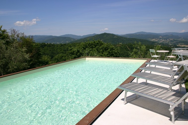 Villa with pool in Umbria