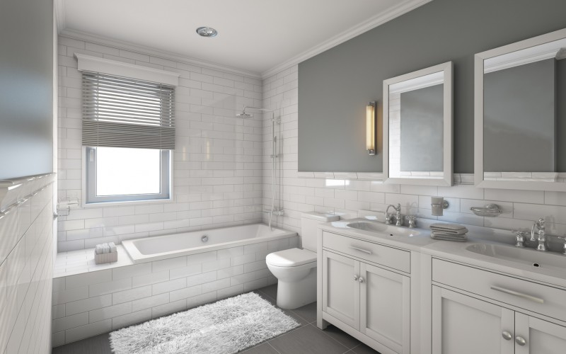 Biała łazienka W Klasycznym Stylu Inspiracje I Aranżacje