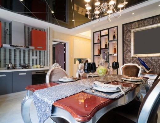 kuchnia w stylu glamour