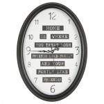 zegar wstylu skandynawskim