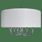 lampa wisząca zabażurem
