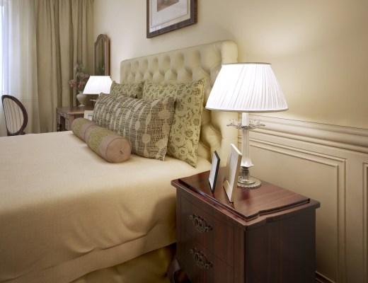 aranżacje sypialni w stylu angielskim