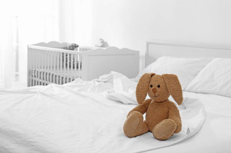 W Ultra Jak urządzić sypialnię z kącikiem dla dziecka? - Blog Villadecor IT05