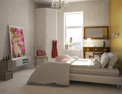 lampy wiszące do sypialni retro