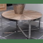 stolik kawowy niklowany