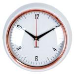 biały zegar kuchenny
