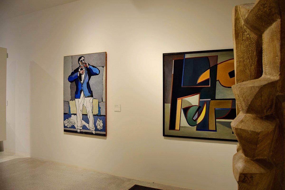 Sculpture et peintures