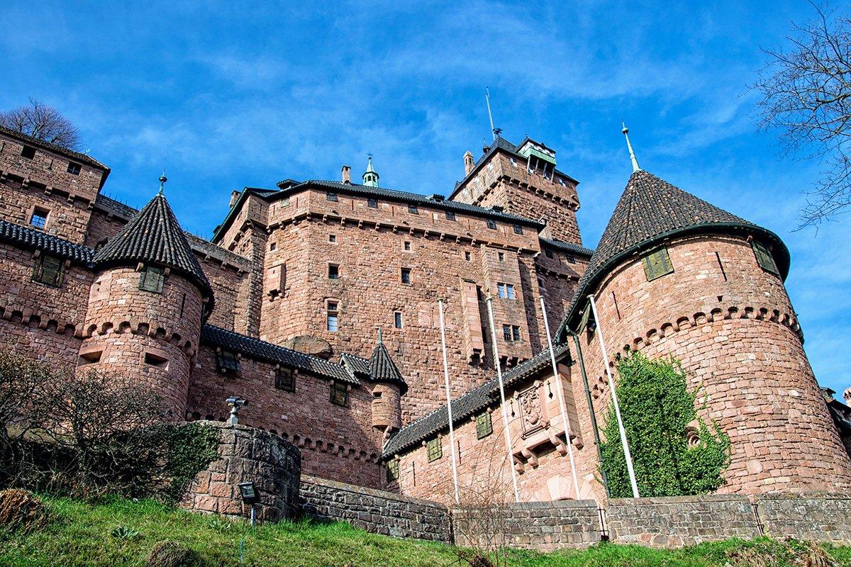Une forteresse imposante