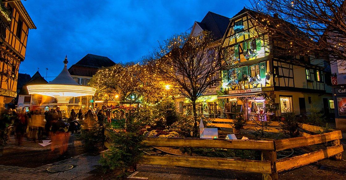 Le marché de Noël d'Obernai 2018