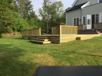 Bilder av utleielokale Villa Elverhøy terrassen 2