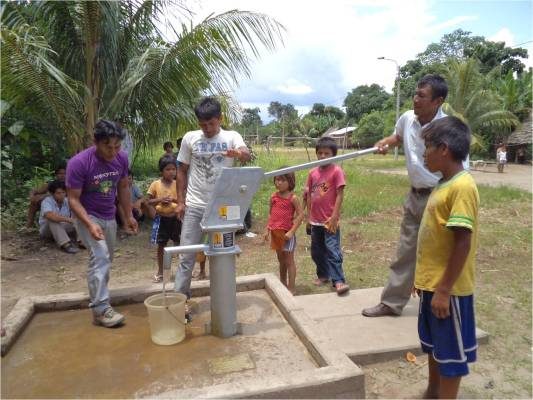 Community well project - Amazon Basin, Peru