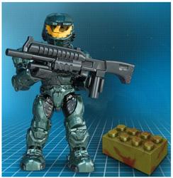 Mega Bloks UNSC Steel Spartan