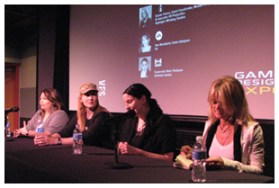 GDX 2009 Women In Games Panel