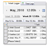 Weekly Logger