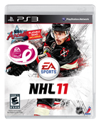 NHL 11 Komen For The Cure Cover