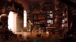 The Fantastic Flying Books of Mr. Morris Lessmore Directed by William Joyce and Brandon Oldenburg, Moonbot Studios (Phot