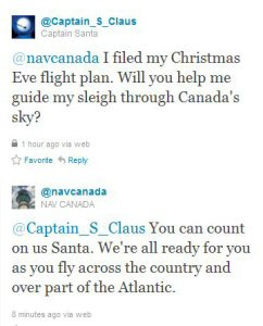 Captain Claus Tweets