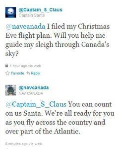Captain Claus Tweets