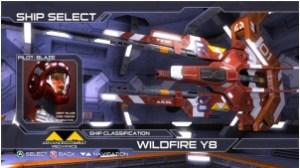 Orbitron: Revolution - Ship Select