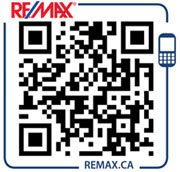 To download the free RE/MAX application onto your device scan the QR code