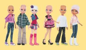 Bald Bratz Dolls