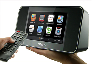 LookeeTV 7'' HD Desktop Internet TV & Radio Player