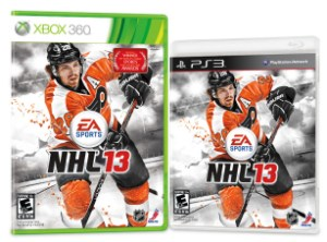 claude giroux nhl 13 cover