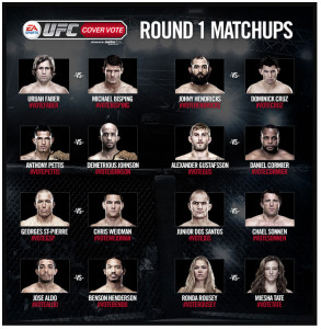 Cover Vote Round 1 Matchups