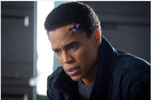Dorian - Almost Human (image source: IMDB)