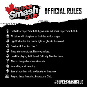 Super Smash Club Rules