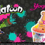 Splatoon at Yogurty's