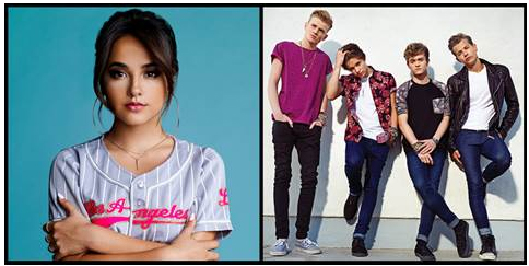 Becky G and The Vamps to perform on Family Channel's Big Ticket Summer Concert tour.