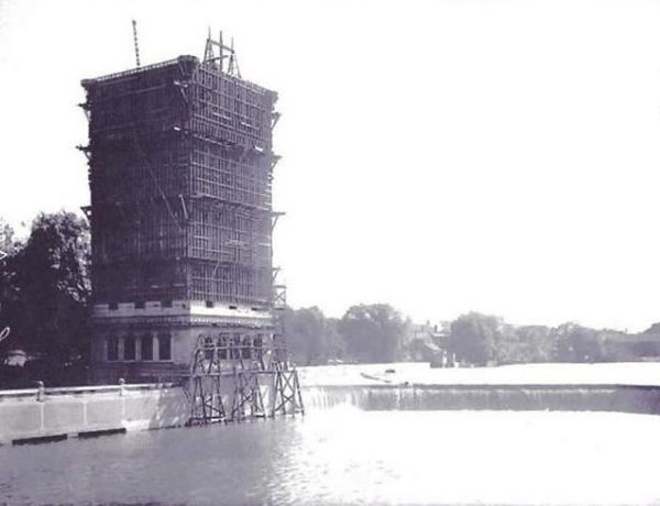 Hofmann Dam Under Construction