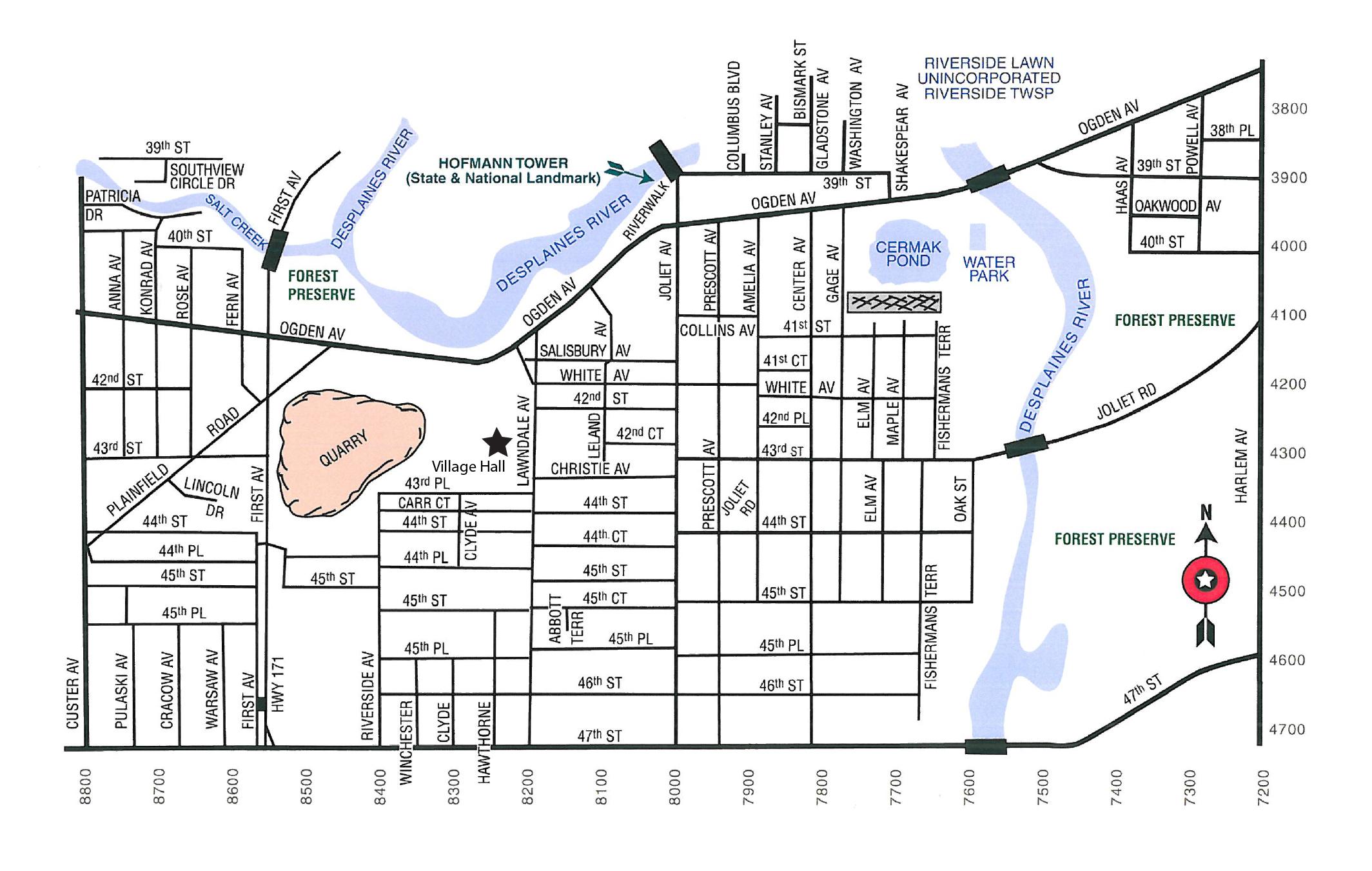 Lyons Map
