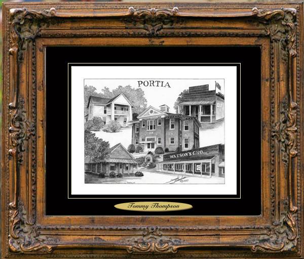 Pencil Drawing of Portia, AR