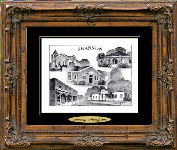 Pencil Drawing of Shannon, MS