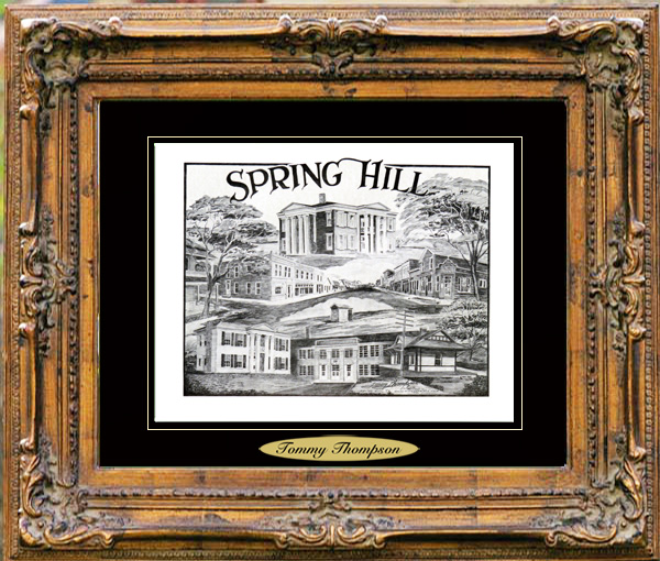Pencil Drawing of Spring Hill, TN