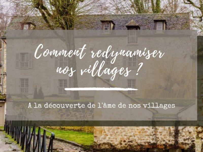 redynamiser les villages
