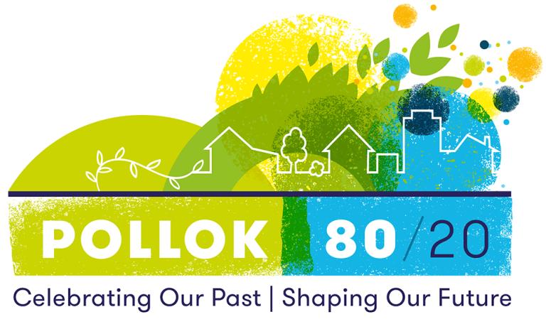 pollok-80-20 logo