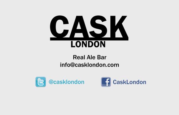 Cask Front Business Card Design