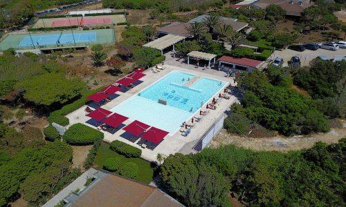 Hotel Sporting Piscina dall'alto