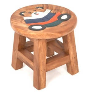 handpainted-kiddy-stool-bear-with-book
