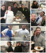 Cocineros y camareros