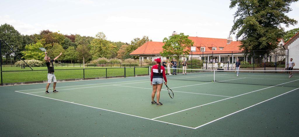 tennis court Villa Kempen-Broek