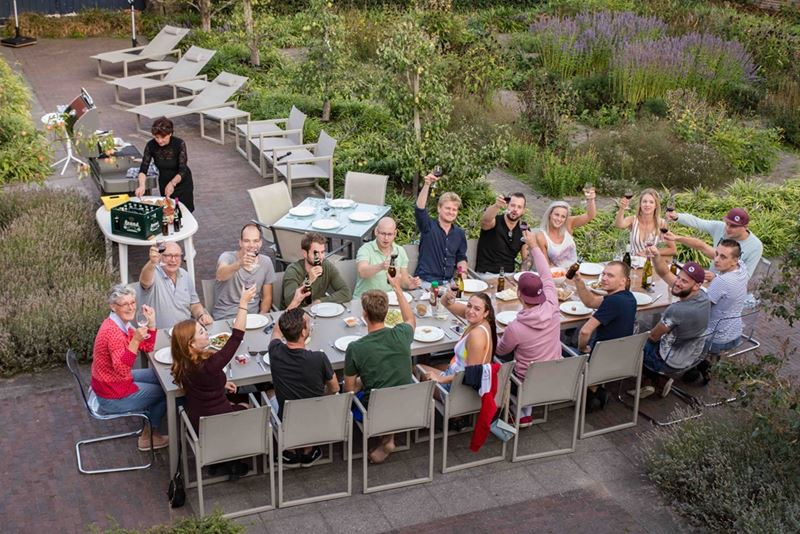 wining and dining Villa Kempen-Broek